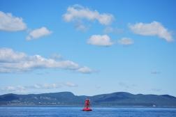 Fleuve Saint-Laurent, Québec, 2011