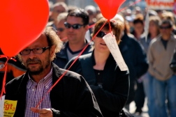Manifestation à Marseille, France, 2008
