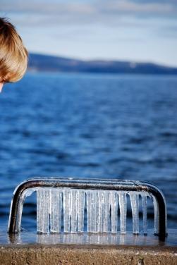 Au bord du lac Memphrémagog, Québec, 2010