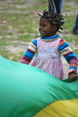 Enfant en mouvement, Québec, 2013