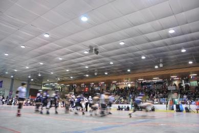 Roller Derby, Arena Saint-Louis, Montréal, 2013