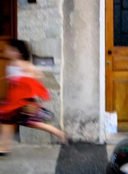 Enfant en mouvement 3, Marseille, 2009