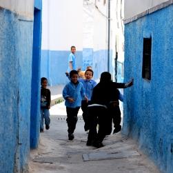 Enfants de Rabat, Maroc, 2010