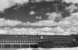 L'école polyvalente de Maniwaki où Maisy et Shannon ont été vues la veille de leur disparition