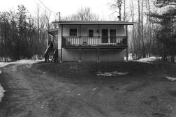 La maison du père de Shannon à Kitigan Zibi
